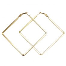 Women's Minimalistic Square Hoop Earrings