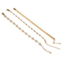 Fashion Chain Anklets Set