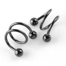 Spiral Piercing Jewelry Set